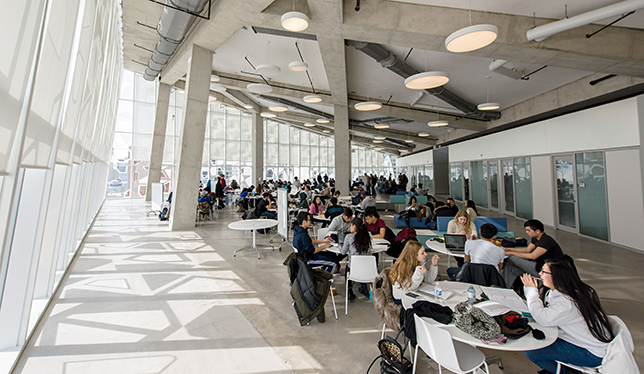 The eighth floor of Ryerson's Student Learning Centre. Photo: Clifton Li