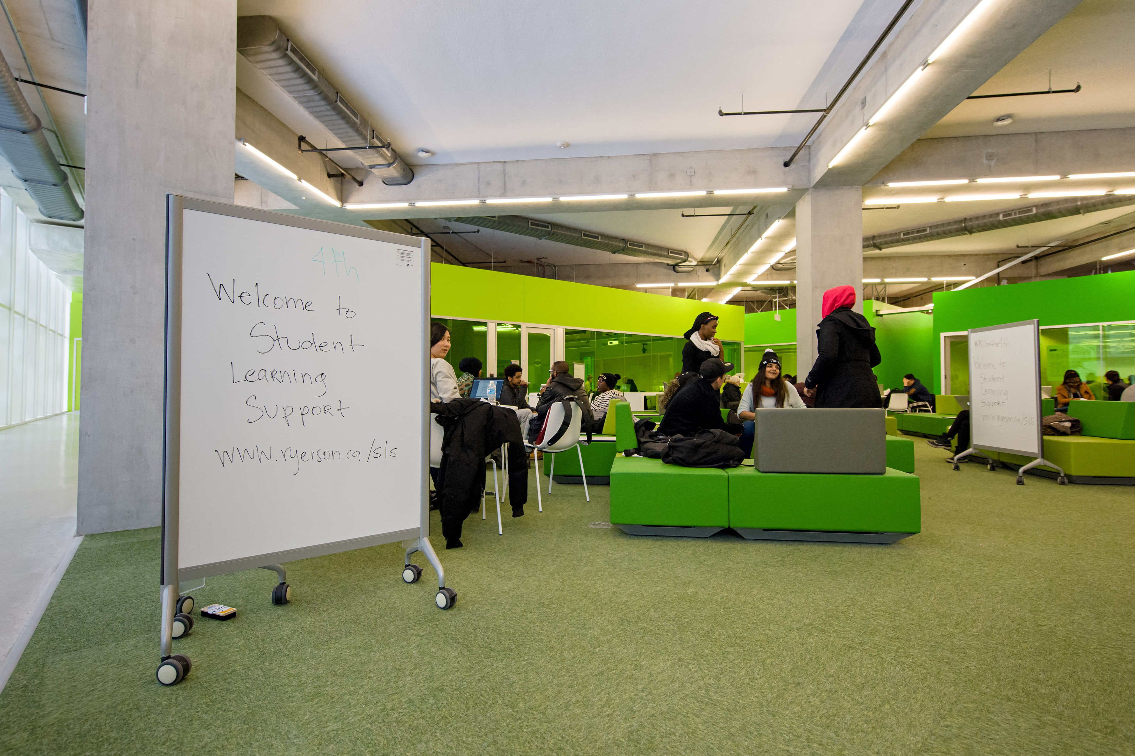 Student Learning Support, Floor 4