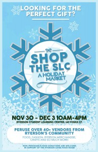 Shop at the SLC, Holiday Market