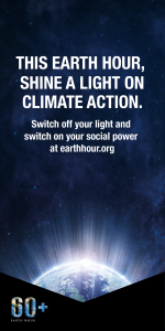 This Earth Hour, shine a light on climate action. Switch off your light and switch on your social power at earthhour.org