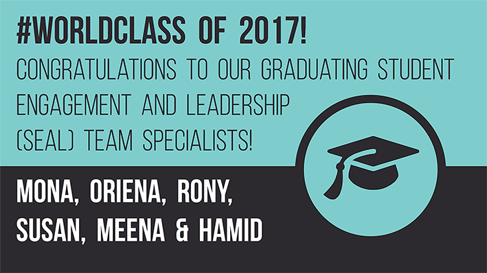 #worldclass 2017! Congratulations to our graduating Specialists!